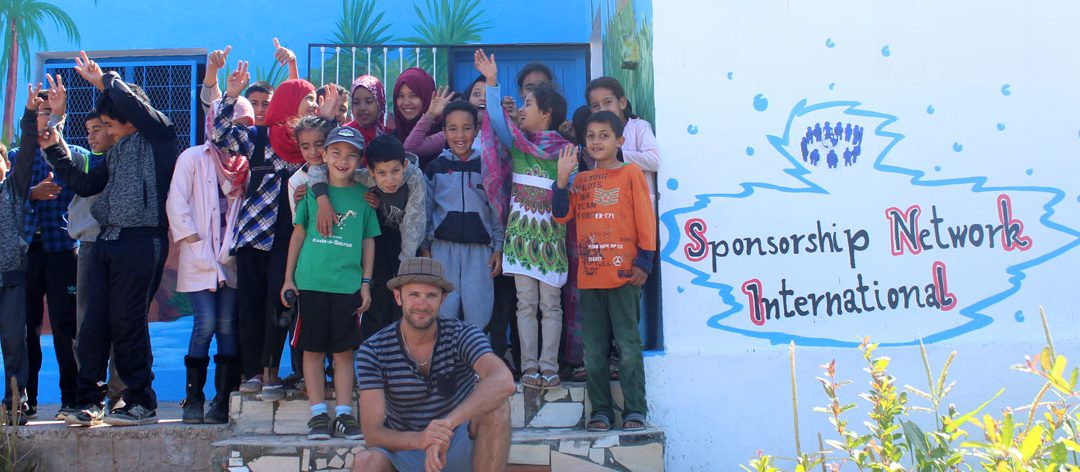 SNI visit renovated school in Taghazout, Morocco