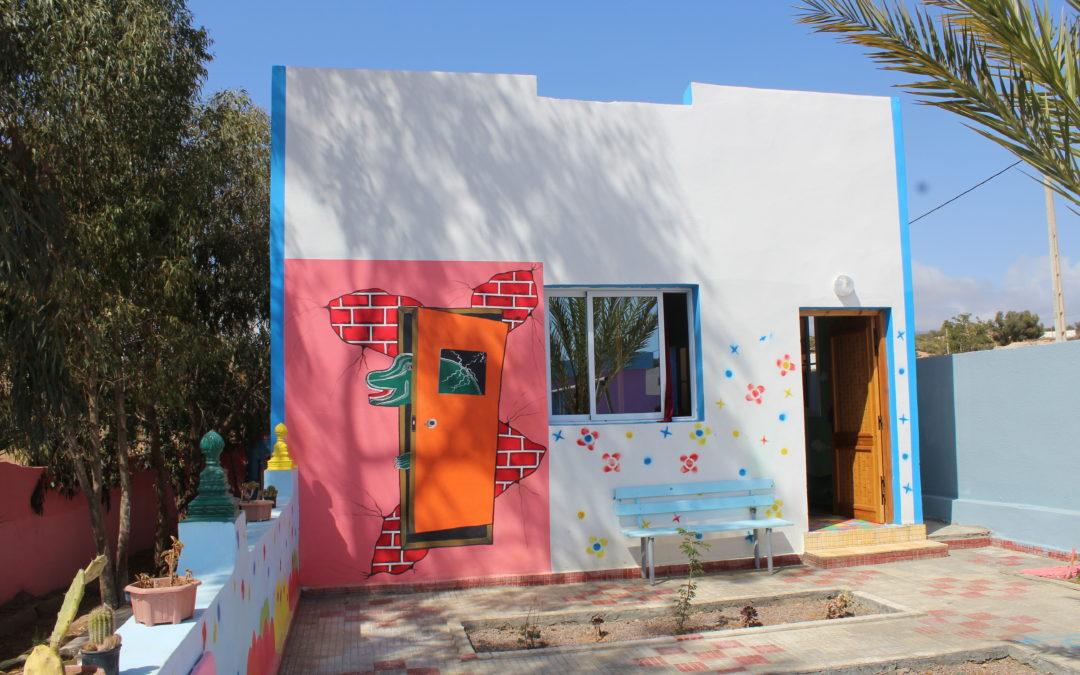 New Kindergarten in Tachdirt, Agadir Province, Morocco