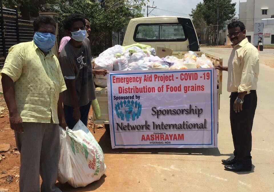 Emergency Aid Covid-19, Food Distribution (India)